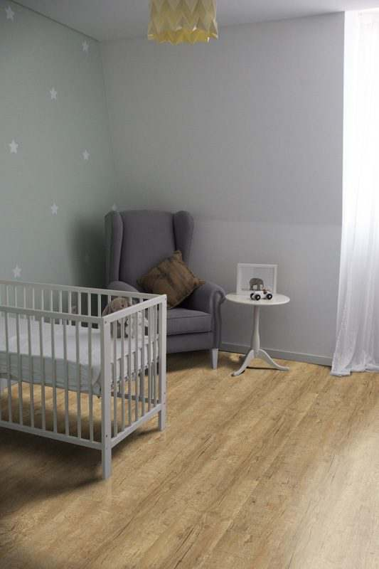 yellow cedar design concept cork floor baby nursery room