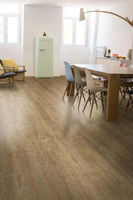 yellow cedar design concept cork floor dinning room